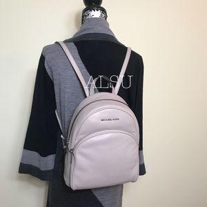 Michael Kors Abbey Medium Backpack Cement AUTHENT